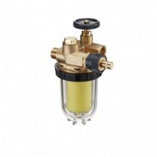 """Фильтры жидкого топлива """"Oilpur EAR"""" с запорным вентилем и перемычкой """"насос-фильтр"""" для однотрубных систем"""