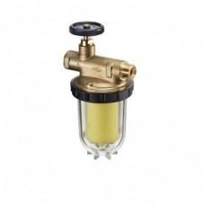 """Фильтры жидкого топлива """"Oilpur Е А"""" с запорным вентилем для однотрубных систем"""