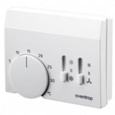 Комнатные термостаты (отопление/охлаждение) с возможностью управления вентилятором