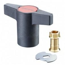 Пластмассовая рукоятка для замены (антрацит)