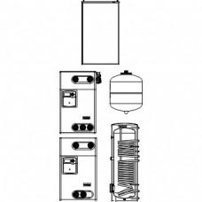 """""""Solcos"""" Комплекты для гелиоустановок с """"OKF-CK22"""" плоскими коллекторами"""
