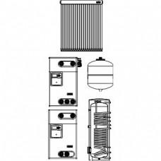 """,,Solcos"""" Комплекты для гелиоустановок с """"ОКР"""" трубчатыми коллекторами"""