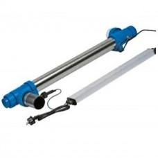 Амальгамная ультрафиолетовая установка Blue Lagoon UV-C Amalgam 150000 (22-23 м3/ч, 220 В), с датчиком потока