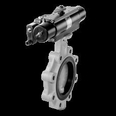 Клапан безопасности высокого расхода, пневмопривод, одноступенчатый откидной клапан HFSV...