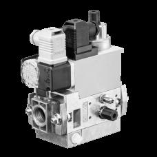 Газовый мультиблок MB-D(LE) 407-412 B07: GasMultiBloc®, модуль регулирования и безопасности, одноступенчатый режим эксплуатации, встроенный байпасный клапан