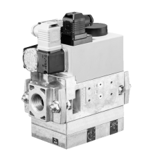 Газовый мультиблок MB-VEF 407-412 B01: GasMultiBloc®, модуль регулирования и безопасности, бесступенчатый плавный режим эксплуатации