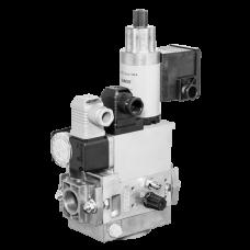 Газовый мультиблок MB-ZRD(LE) 405-412 B07: GasMultiBloc®, модуль регулирования и безопасности, двухступенчатый режим эксплуатации, встроенный байпасный клапан